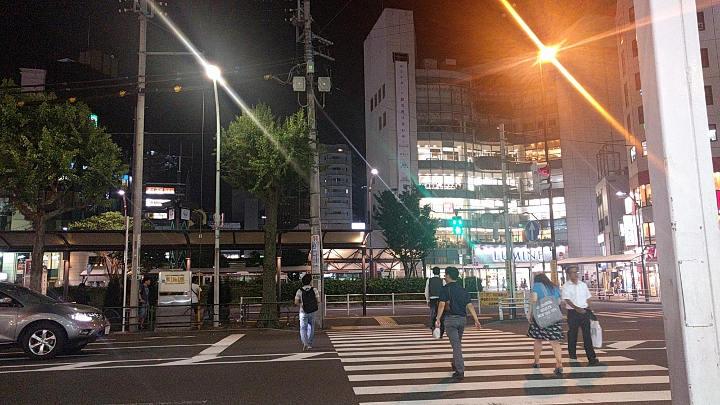 荻窪 感情8号線 横断歩道