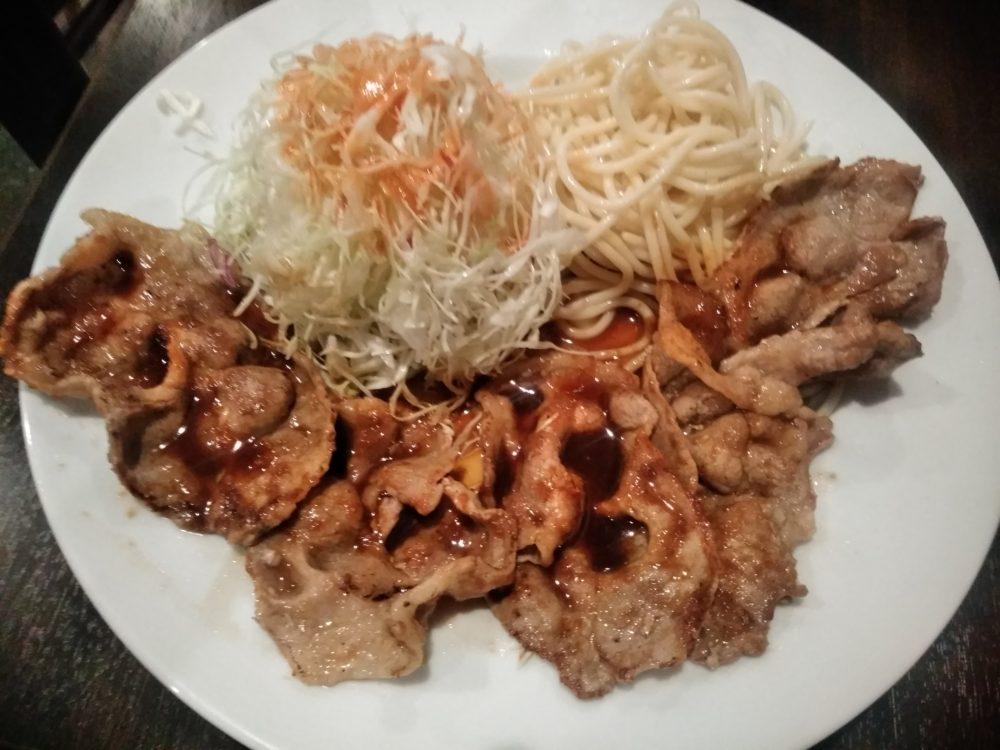 洋食ツバキ亭 生姜焼き