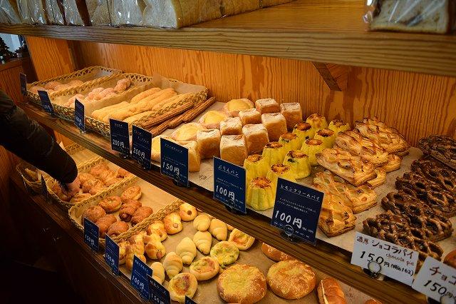 boulangerie brunのパン
