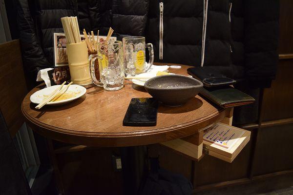 立呑み 焼きとん 大黒 テーブル席