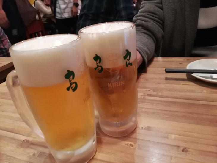 鳥良商店 荻窪南口店 ビール