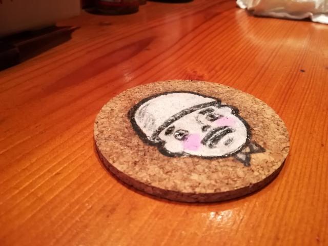 宮古島食堂コースター