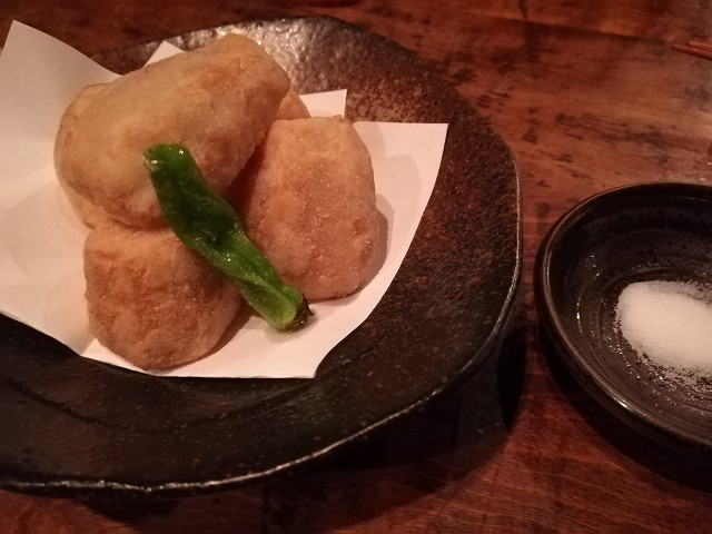 「荻窪 卯」里芋の天ぷら