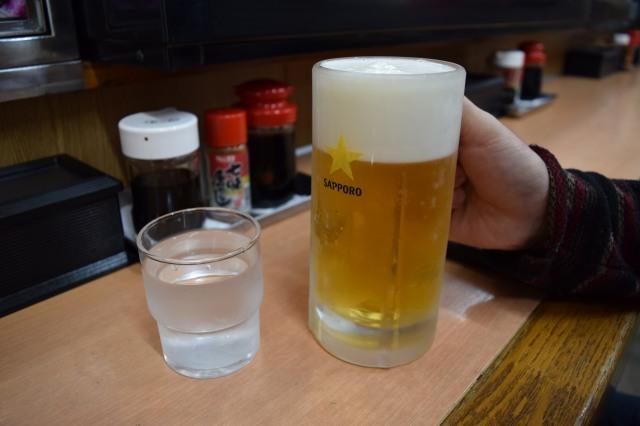 やしろ食堂のビール