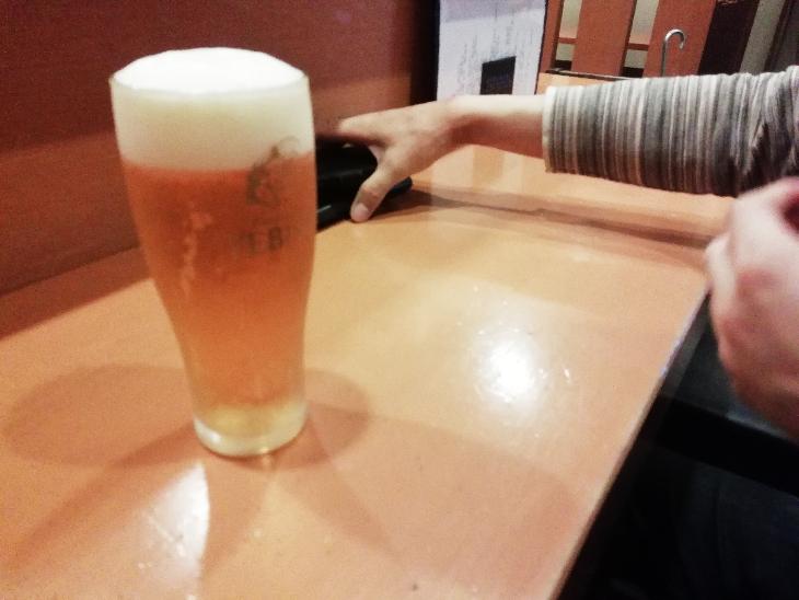 一膳めし屋すずらん 荻窪 ビール