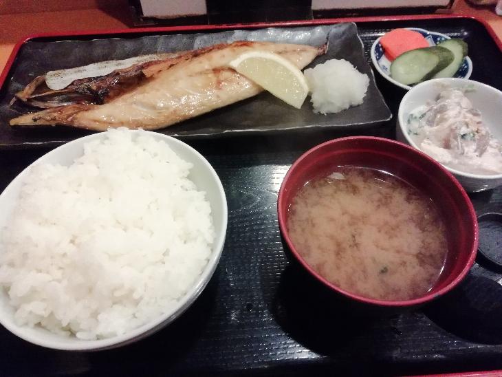 一膳めし屋すずらん 荻窪 焼き魚定食