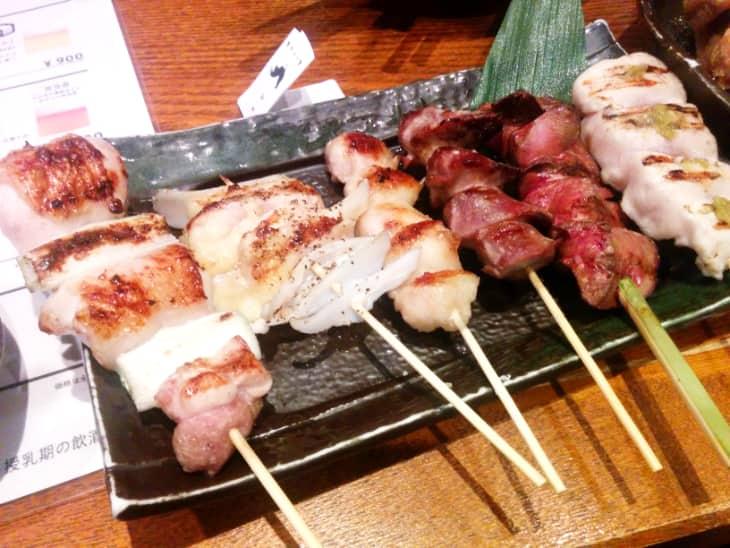 神鶏(しんけい)荻窪本店 焼鳥6串セット